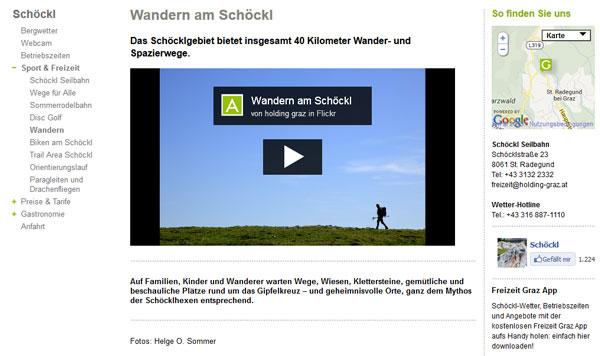 Wandern auf www.schoeckl.at