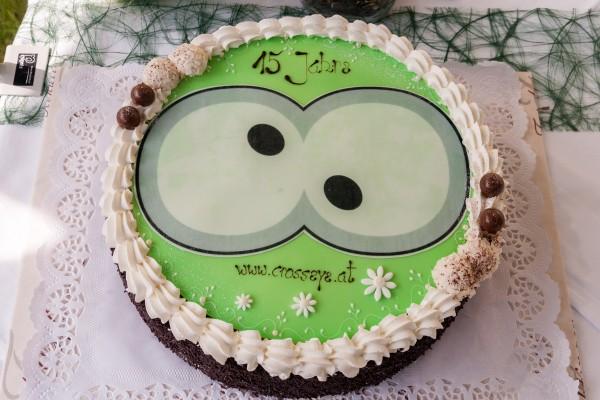 15Jahre Agenturjubiläum - Torte gehört dazu!