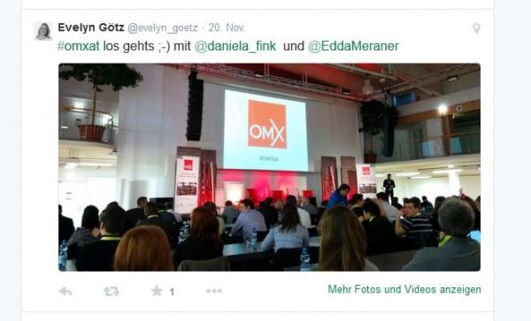 OMX Salzburg - Twitter Post