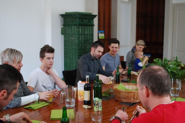 Gäste bei der Einstandsfeier im GIZ Rosegg