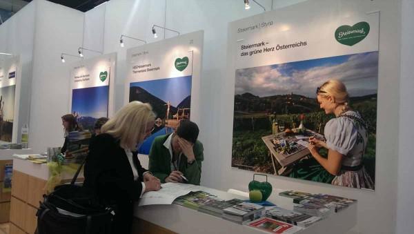 Angekommen in der Steiermark auf der ITB 2015