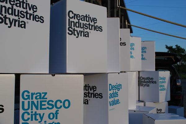 Weizcamp mit Unterstützung der Creative Industries Styria (CIS)