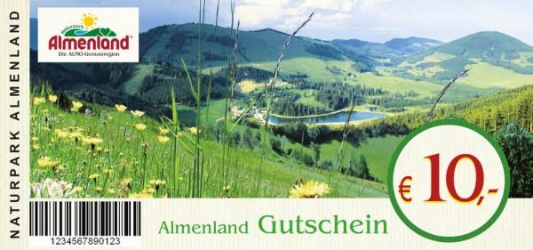 Almenland Gutschein