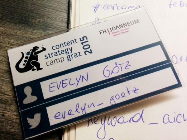 Unser erstes #coscamp Graz