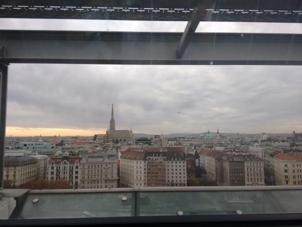 Herrlicher Blick über Wien