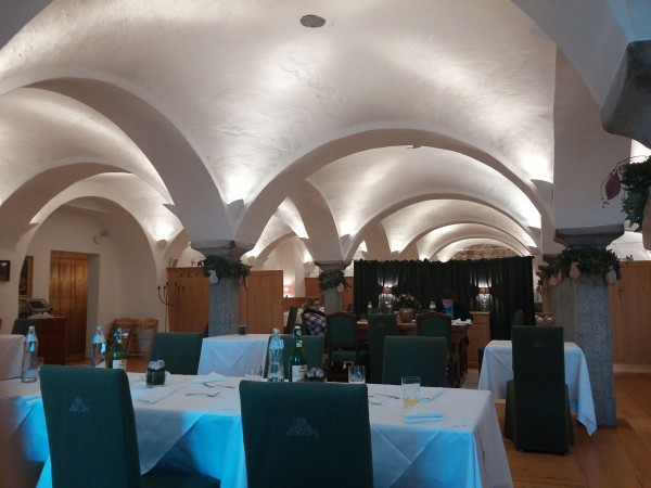 Gewölbekeller im Romantik Hotel Gmachl