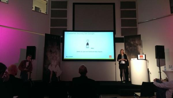 Amke Kappel auf der OMX 2015