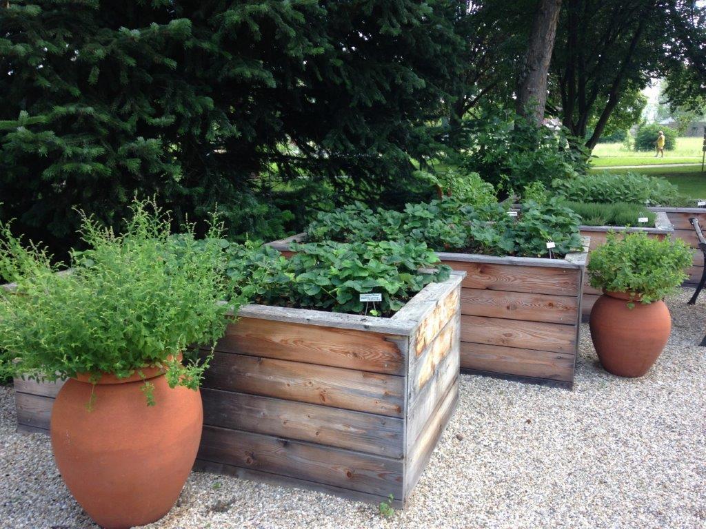 Naschgarten für Hotelgäste