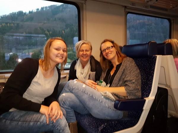 Zugfahrt nach Salzburg zur OMX und SEOkomm