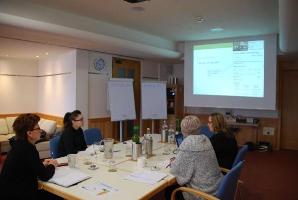 Content-Workshop beim RETTER Seminar Hotel Bio Restaurant
