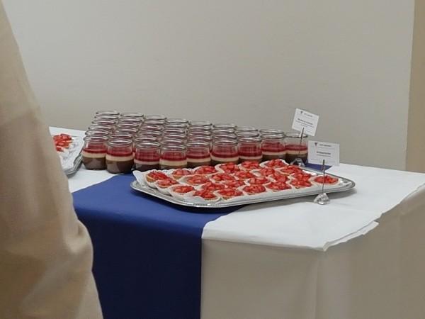 Süße Köstlichkeiten beim Seminar in Wien