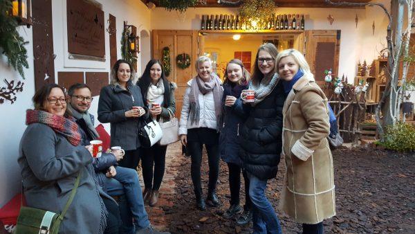 Punsch am Weihnachtsmarkt des Weingut Glatz