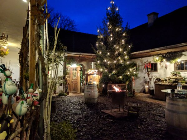 Weihnachtsmarkt Weingut Glatz
