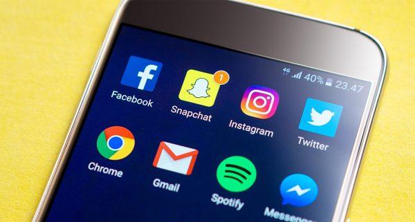 Smartphone Snapchat (c) Pixabay