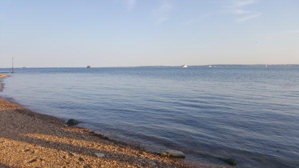 Der Strand von Portsmouth