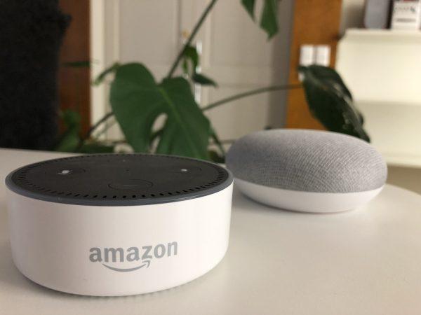 Alexa und Google Home im Vergleich
