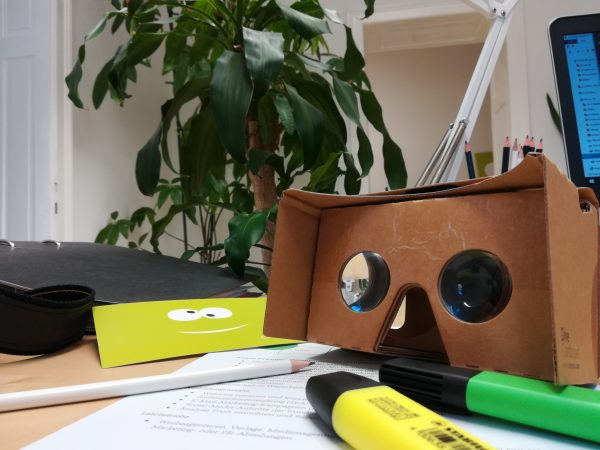 Google Cardboard Brille