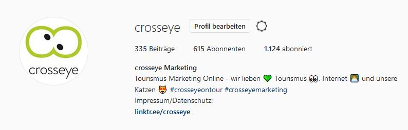 Biografie crosseye