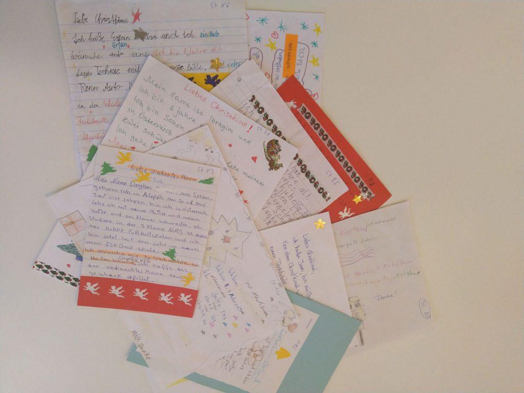 Briefe von Kindern an das Christkind