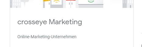 Primäre Kategorie Online Marketing Unternehmen
