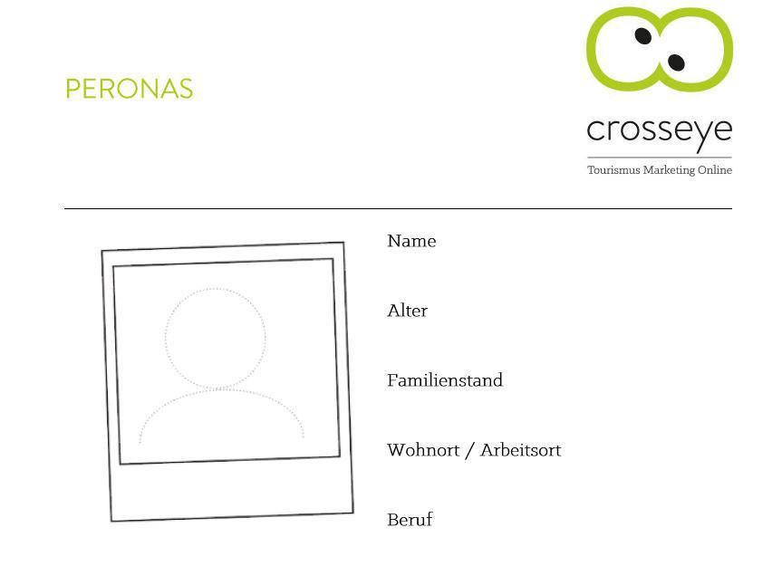 Personas bei crosseye Marketing