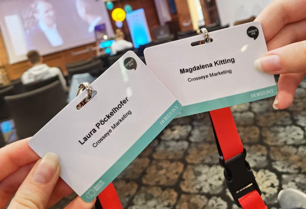 Laura & Magdalena von crosseye Marketing